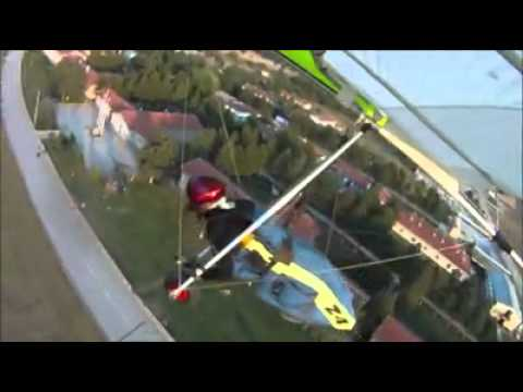 Özgür Alper At Hanggliding Training / Turkish Aeronautical Association Inonu/Eskisehir/Turkey