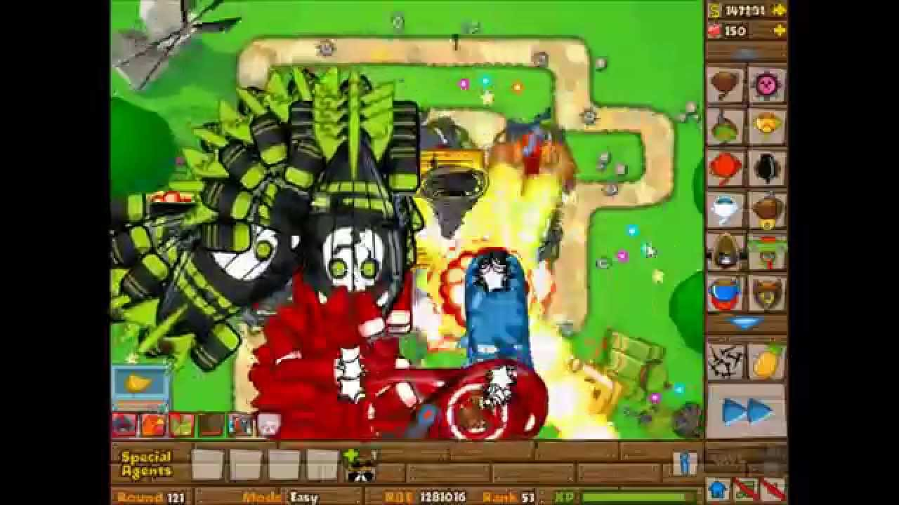 Kongregate bloons monkey - Bloons Tower Defense 5 Round 105 130 Tower With 10 Million Pops Hd
