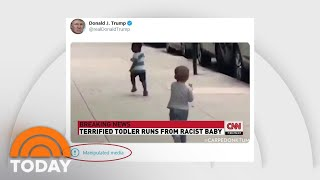 Twitter Labels Trump Tweet As 'manipulated Media' As Facebook Removes Trump Ad | Today