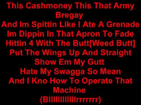 Lil Wayne - When they come for me (LYRICS)