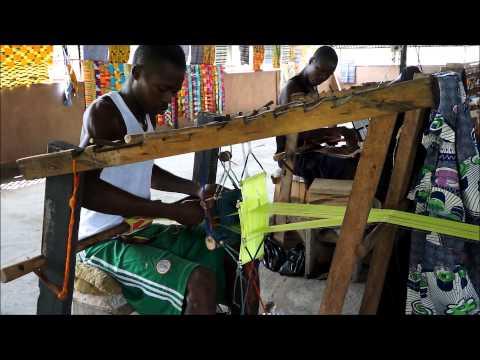 """Les tissus africains """"Kentés"""" du Ghana par Africouleur"""