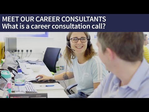 MEET OUR CAREER CONSULTANTS | What is a career consultation call?