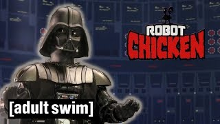 Robot Chicken Star Wars | The Best of the Dark Side | Adult Swim UK 🇬🇧