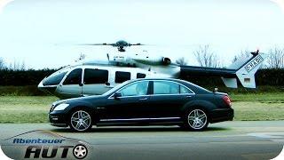 Hubschrauber vs. Auto | Eurocopter vs. Mercedes S63 AMG | Abenteuer Auto Classics