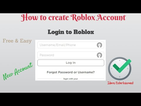 How to create a roblox account I Free robux (ROBLOX)I Sign Up For Roblox 2020 -Tutorial thumbnail
