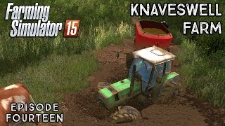 Let's Play Farming Simulator 2015 | Knaveswell Farm | Episode 14