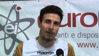 15-11-2015: #A2MVolley - Danilo Cortina dopo la sconfitta di Ortona a Castellana Grott