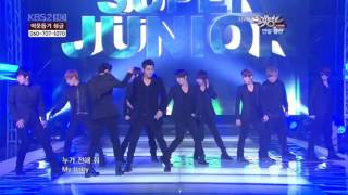 Download HD 101217 Super Junior   Bonamana MP3 song and Music Video