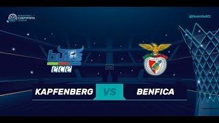 Kapfenberg Bulls (AUT) v Benfica (POR) - Live 🔴 - Basketball Champions League 17-18
