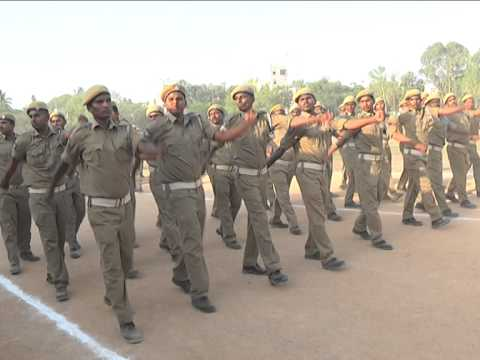 Home Guards passing out parade March fast