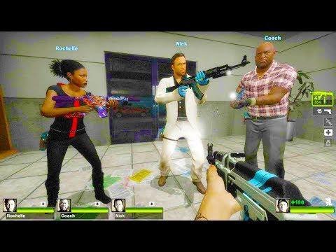 Left 4 Dead 2 - Never Ending War: Redux Custom Campaign Gameplay Walkthrough