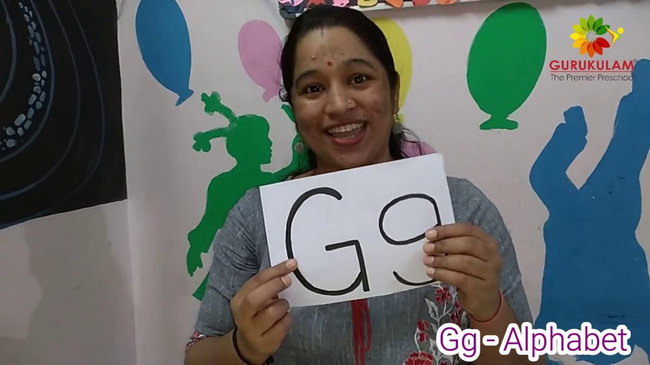 Gurukulam   Homeschooling   Gg - Alphabet
