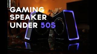Video Best Gaming Speakers Under 50$- Dragonwar Gaming Speaker Unboxing and Review download MP3, 3GP, MP4, WEBM, AVI, FLV Juli 2018