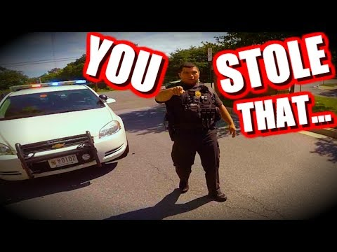 PULLED OVER by THE COOLEST COP EVER!!! #3