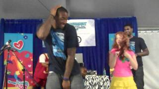 World's Tallest Cat Daddy Dance Josh Powell with Laughing Pizza Band