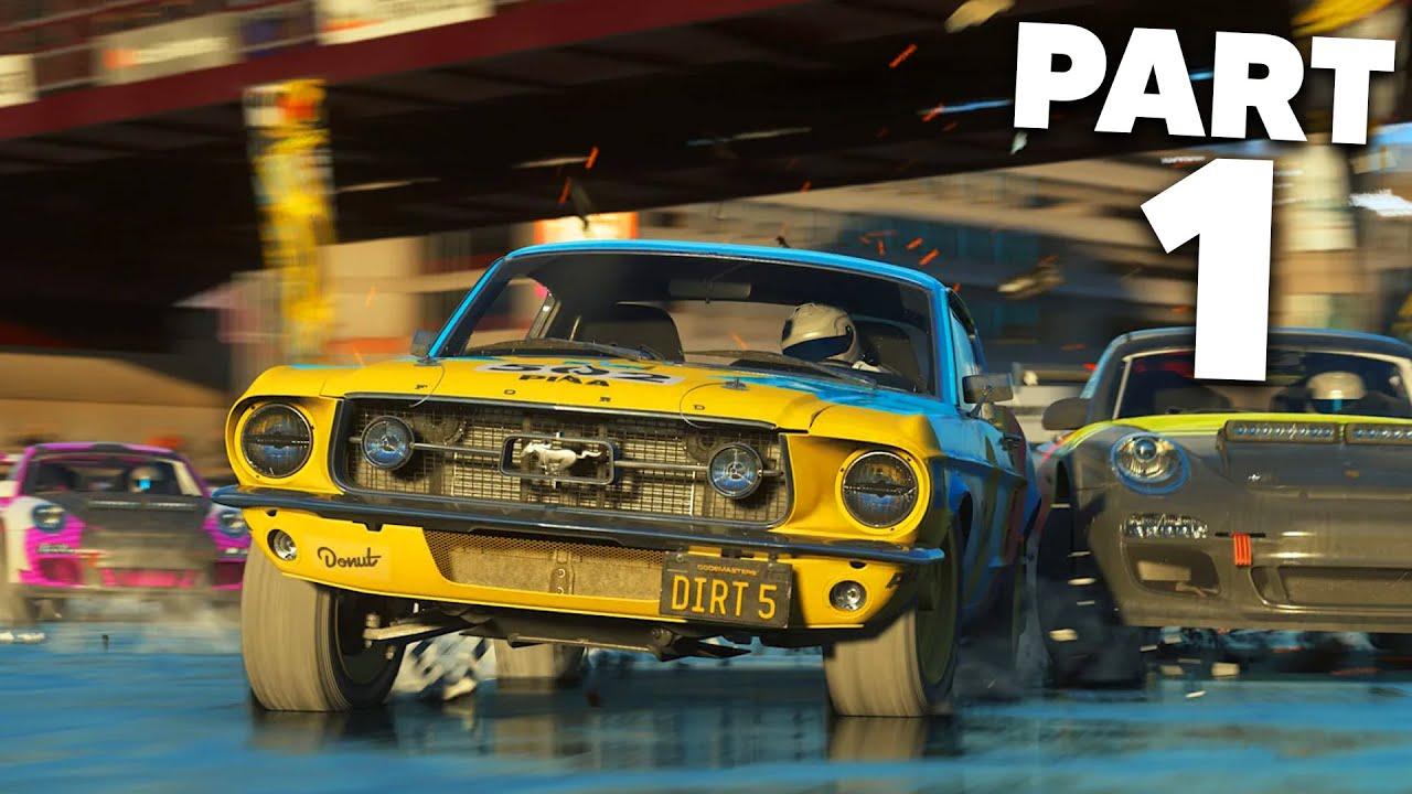 Download DiRT 5 Career Mode Gameplay Walkthrough Part 1 - INTRO (Full Game)