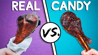 We Try the Ultimate Real vs Candy Challenge #4