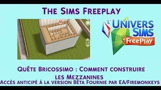 sims freeplay mezzanine