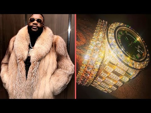 Rick Ross Lets Everyone Know Hes Okay Shows New Diamond Watch After Life Support, Hospital News 2018
