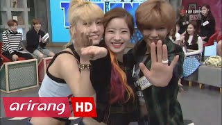 HOT TWICE Dahyun, Jeongyeon, and Momo showing off some crazy dance moves