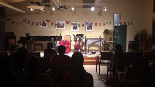 Duo with Joshuah Campbell at Banff Resonant Bodies
