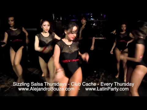 Sizzling Salsa Thursdays - Karel Flores's Ladies Team