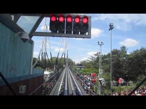 Stealth Front Seat on-ride HD POV Thorpe Park