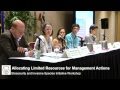 Workshop: Allocating Limited Resources for Management Actions