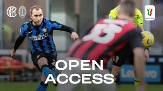 INTER 2-1 AC MILAN | OPEN ACCESS | Milano is Black&Blue again! [SUB ENG] 🥳⚫🔵🎊