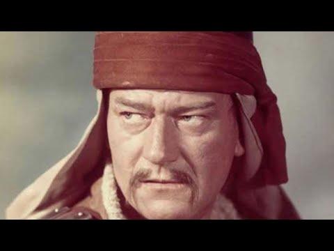 John Wayne and Susan Hayward Died for the Conqueror