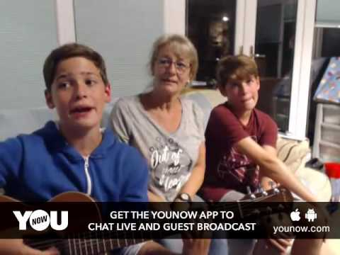 LIVE on YouNow September 3, 2016