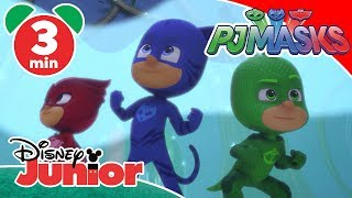 PJ Masks | Luna Girl Steals The Moon Crystal 🌙 | Disney Junior UK