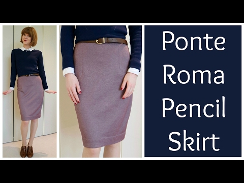 Sew and Tell: Sew Over It Ponte Roma Ultimate Pencil Skirt