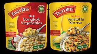 $1.00 Thai & Indian Food in a BAG! - What Are We Eating?? - The Wolfe Pit