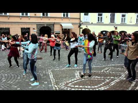 First Bollywood flashmob in Slovenia
