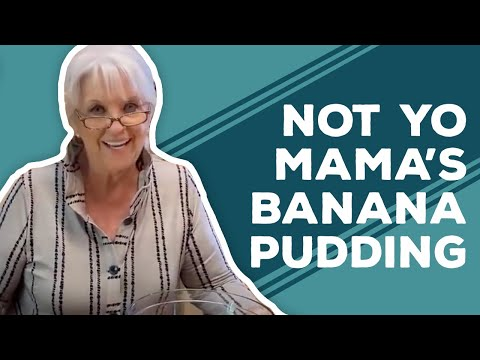 Not Yo Mama's Banana Pudding - Quarantine Cooking
