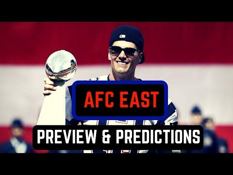AFC East Division Preview | NFL Predictions 2017