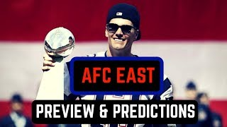 AFC East Division Preview   NFL Predictions 2017