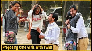 Proposing Cute Girl's With Twist Prank - Pranks In India 2019 || By TCI