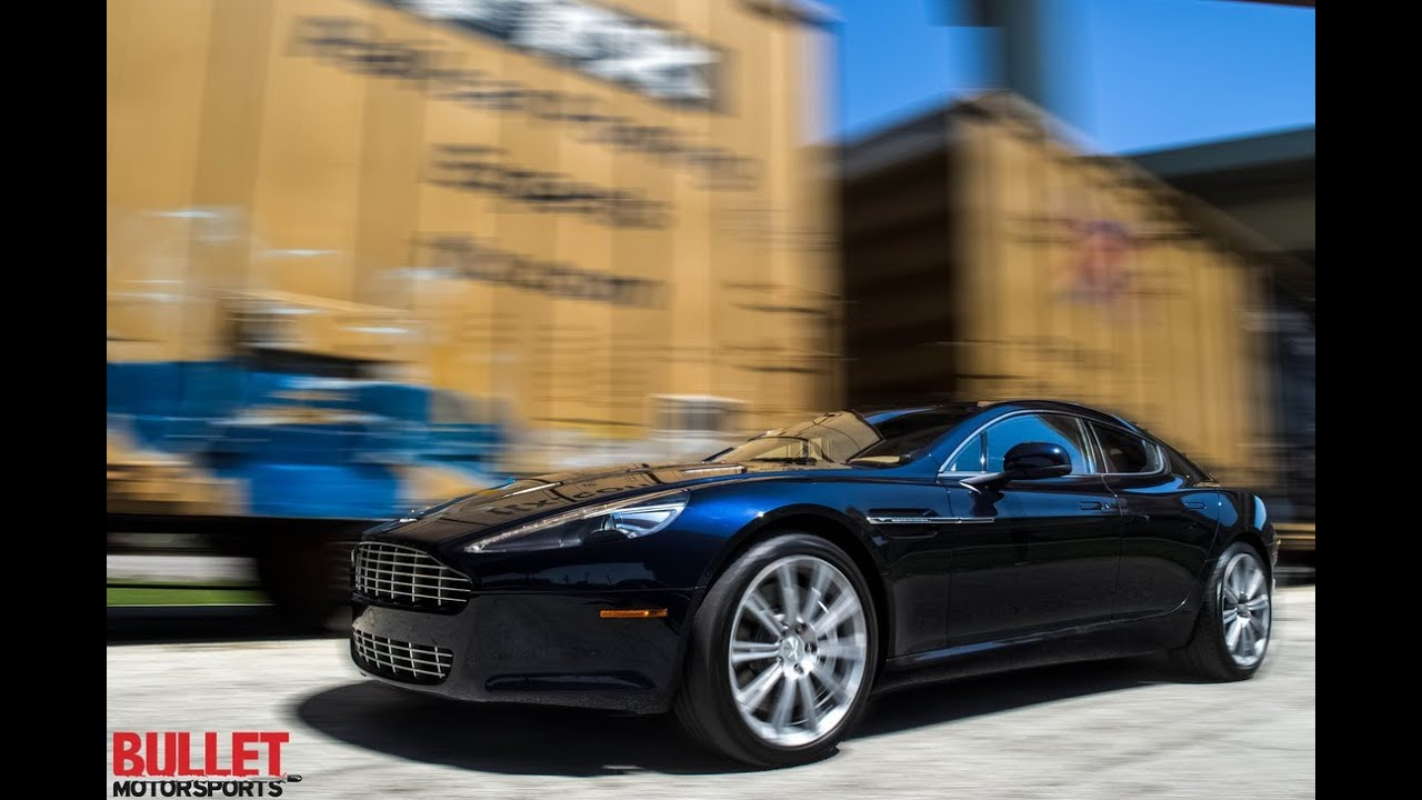 2012 Aston Martin Rapide Test Drive And Acceleration Youtube