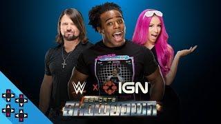 Austin Creed hosts the WWE x IGN eSports Showdown