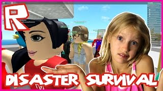 Natural Disaster Survival / No Double Disaster / Roblox