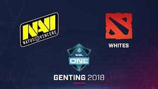 Dota 2 - NaVi vs Whites - Game 3 - Ro8 - ESL One Genting CIS Qualifier
