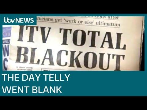 The ITV strike of 1979   ITV News