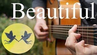 Beautiful - Bazzi ft. Camila - Fingerstyle Guitar Cover (Free Tabs)