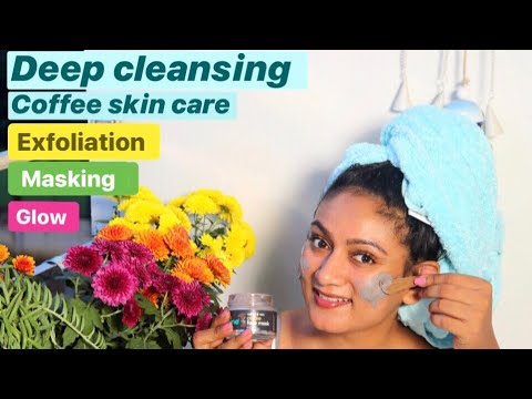 Coffee Skin Care Deep Cleansing Exfoliation & Masking || Ashtrixx