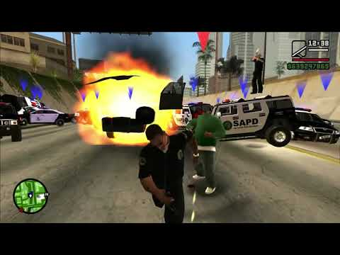 What Would Happen If You Played GTA San Andreas Like Real LAPD? (10 Stars Police Chase)