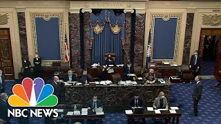 Covid Relief Bill Advances In The Senate Without Republican Support | NBC Nightly News