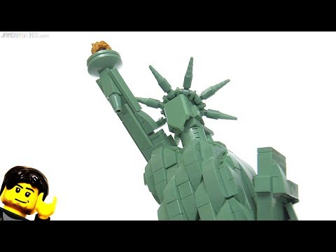 LEGO Architecture Statue of Liberty review! 21042