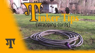 How To Wrap Cords and Hoses